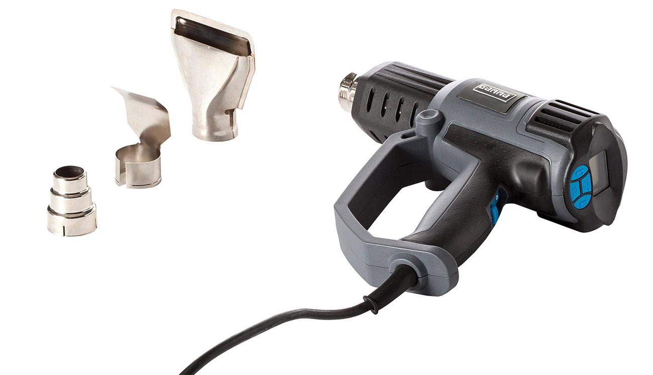 Heat gun to help create a comfortable orthosis.