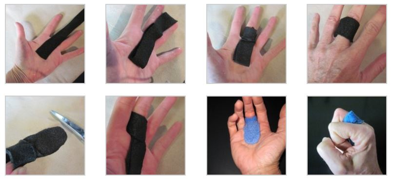 MCP joint blocking orthosis