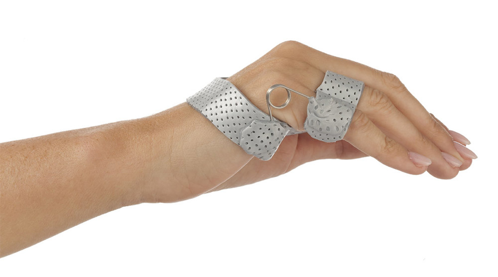 Functional Ulnar Nerve Orthosis in Orfit Colors NS - Sonic Silver