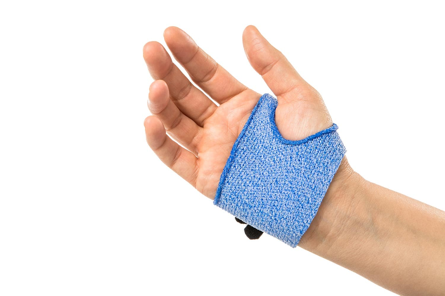 Palmar orthosis in Orficast More Blue.
