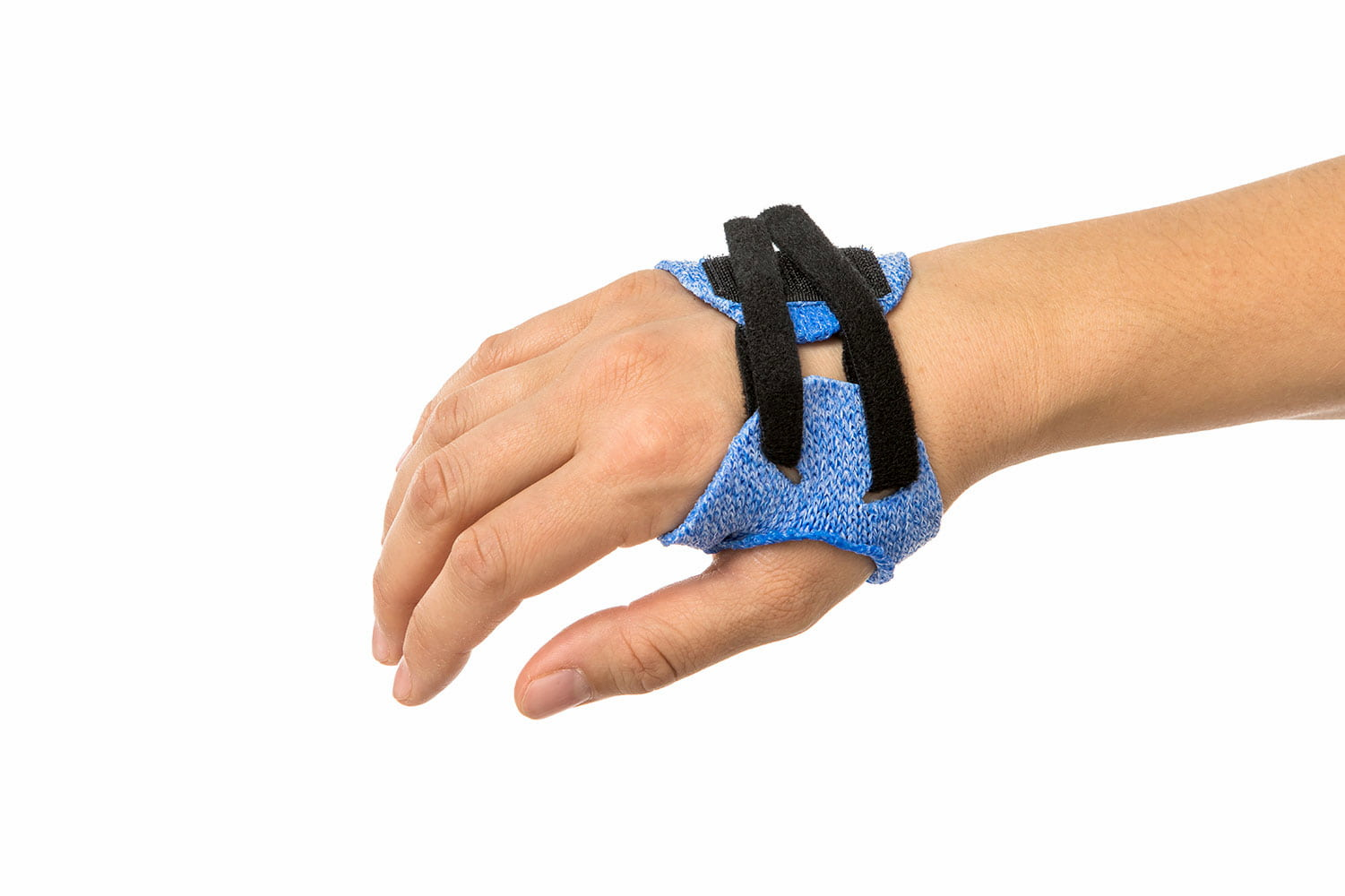 Dorsal orthosis in Orficast Blue