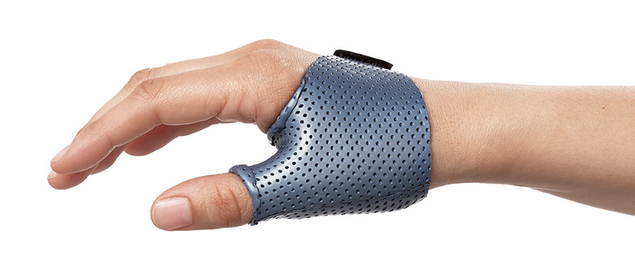 Keeping a splint simple such as this one is one of the splinting principles.