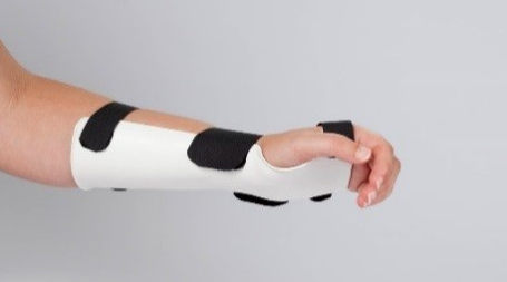 volar wrist cock-up orthosis